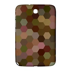 Brown Background Layout Polygon Samsung Galaxy Note 8 0 N5100 Hardshell Case