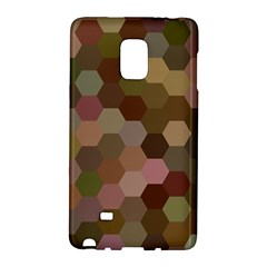 Brown Background Layout Polygon Galaxy Note Edge by Nexatart