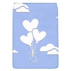 Clouds Sky Air Balloons Heart Blue Flap Covers (s)