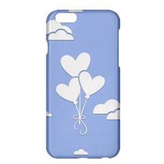 Clouds Sky Air Balloons Heart Blue Apple Iphone 6 Plus/6s Plus Hardshell Case