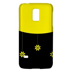 Flower Land Yellow Black Design Galaxy S5 Mini