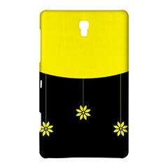 Flower Land Yellow Black Design Samsung Galaxy Tab S (8 4 ) Hardshell Case