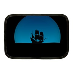 Ship Night Sailing Water Sea Sky Netbook Case (medium)