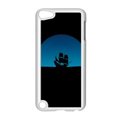 Ship Night Sailing Water Sea Sky Apple Ipod Touch 5 Case (white)