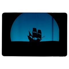 Ship Night Sailing Water Sea Sky Ipad Air Flip