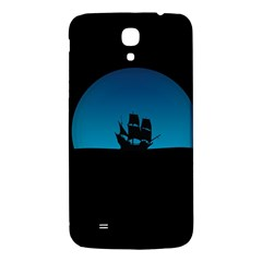 Ship Night Sailing Water Sea Sky Samsung Galaxy Mega I9200 Hardshell Back Case