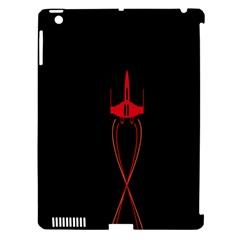 Ship Space Spaceship Apple Ipad 3/4 Hardshell Case (compatible With Smart Cover)