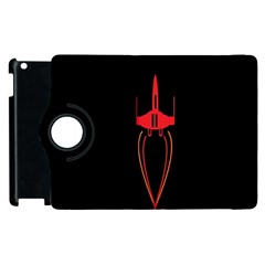 Ship Space Spaceship Apple Ipad 2 Flip 360 Case