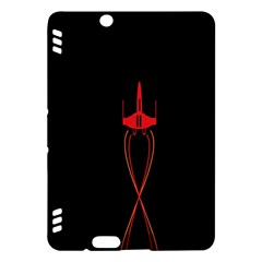 Ship Space Spaceship Kindle Fire Hdx Hardshell Case by Nexatart