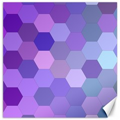 Purple Hexagon Background Cell Canvas 20  X 20