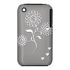 Flower Heart Plant Symbol Love Iphone 3s/3gs by Nexatart