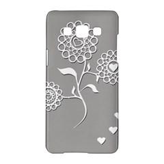 Flower Heart Plant Symbol Love Samsung Galaxy A5 Hardshell Case