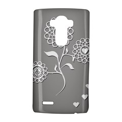 Flower Heart Plant Symbol Love Lg G4 Hardshell Case by Nexatart