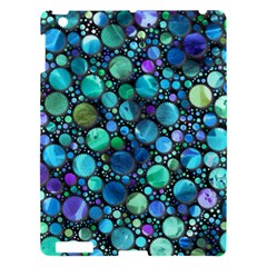 Lovely Shapes 2c Apple Ipad 3/4 Hardshell Case by MoreColorsinLife