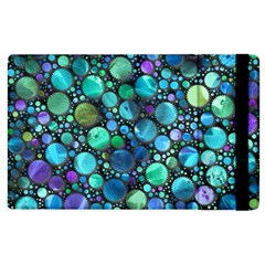 Lovely Shapes 2c Apple Ipad 3/4 Flip Case by MoreColorsinLife