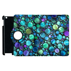 Lovely Shapes 2c Apple Ipad 3/4 Flip 360 Case by MoreColorsinLife