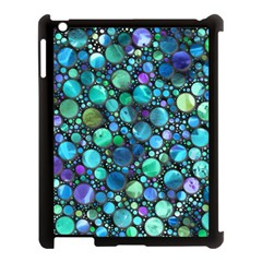 Lovely Shapes 2c Apple Ipad 3/4 Case (black) by MoreColorsinLife