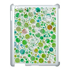 Lovely Shapes 2b Apple Ipad 3/4 Case (white) by MoreColorsinLife