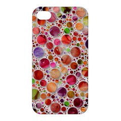 Lovely Shapes 2a Apple Iphone 4/4s Premium Hardshell Case by MoreColorsinLife