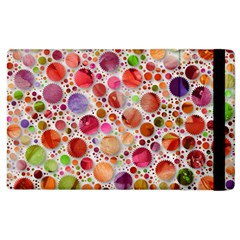 Lovely Shapes 2a Apple Ipad 2 Flip Case by MoreColorsinLife
