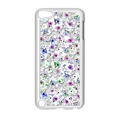 Lovely Shapes 1a Apple Ipod Touch 5 Case (white) by MoreColorsinLife