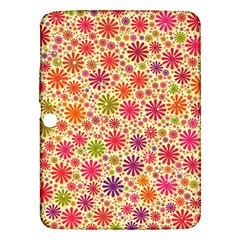 Lovely Shapes 3c Samsung Galaxy Tab 3 (10 1 ) P5200 Hardshell Case  by MoreColorsinLife