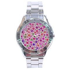 Lovely Shapes 3a Stainless Steel Analogue Watch by MoreColorsinLife
