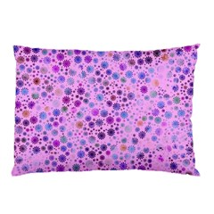 Lovely Shapes 4c Pillow Case by MoreColorsinLife