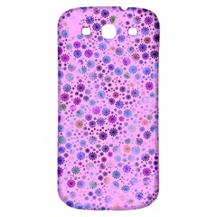 Lovely Shapes 4c Samsung Galaxy S3 S Iii Classic Hardshell Back Case by MoreColorsinLife