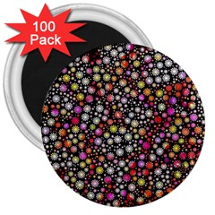 Lovely Shapes 4a 3  Magnets (100 Pack)
