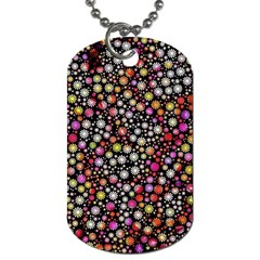 Lovely Shapes 4a Dog Tag (two Sides) by MoreColorsinLife