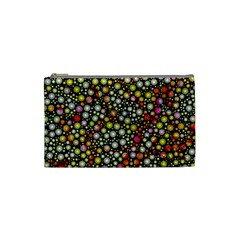 Lovely Shapes 4b Cosmetic Bag (small)  by MoreColorsinLife