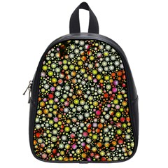Lovely Shapes 4b School Bag (small) by MoreColorsinLife