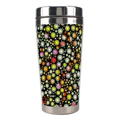 Lovely Shapes 4b Stainless Steel Travel Tumblers by MoreColorsinLife