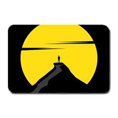 Man Mountain Moon Yellow Sky Plate Mats