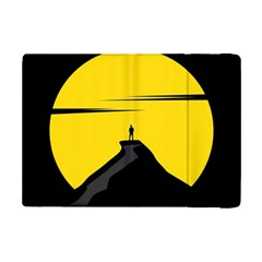 Man Mountain Moon Yellow Sky Ipad Mini 2 Flip Cases