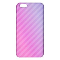 Diagonal Pink Stripe Gradient Iphone 6 Plus/6s Plus Tpu Case