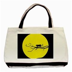 Jaguar Puma Animal Panther Cat Basic Tote Bag (two Sides)