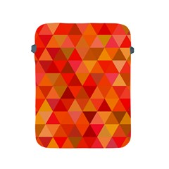Red Hot Triangle Tile Mosaic Apple Ipad 2/3/4 Protective Soft Cases