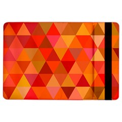 Red Hot Triangle Tile Mosaic Ipad Air 2 Flip