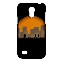 City Buildings Couple Man Women Galaxy S4 Mini