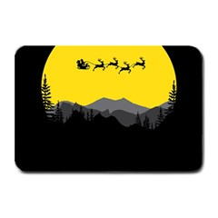 Christmas Dear Santa Claus Card Plate Mats
