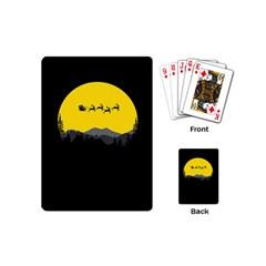 Christmas Dear Santa Claus Card Playing Cards (mini)