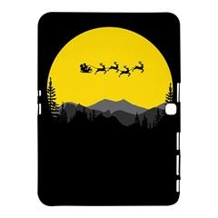 Christmas Dear Santa Claus Card Samsung Galaxy Tab 4 (10 1 ) Hardshell Case