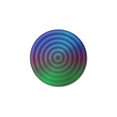 Blue Green Abstract Background Golf Ball Marker (10 Pack)