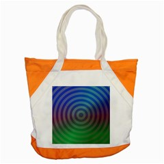 Blue Green Abstract Background Accent Tote Bag