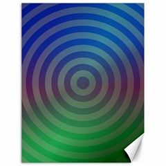 Blue Green Abstract Background Canvas 18  X 24   by Nexatart