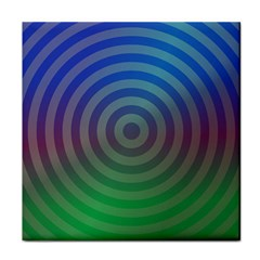Blue Green Abstract Background Face Towel