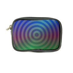 Blue Green Abstract Background Coin Purse