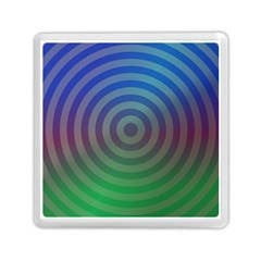 Blue Green Abstract Background Memory Card Reader (square)  by Nexatart